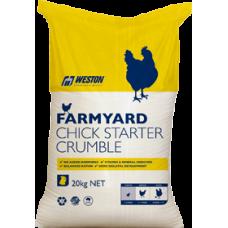 CHICK STARTER CRUMBLES FARMYARD
