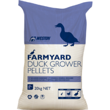 DUCK GROWER PELLETS FARMYARD