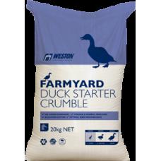 DUCK STARTER CRUMBLES FARMYARD