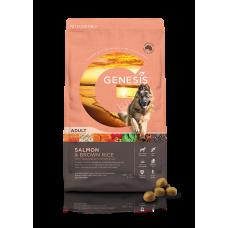 GENESIS SALMON AND BROWN RICE ADULT DOG FOOD