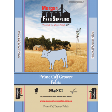 PRIME CALF GROWER PELLETS MORGAN FEED SUPPLIES