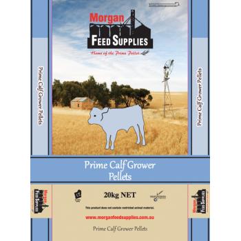 PRIME CALF GROWER PELLETS MORGAN FEED SUPPLIES