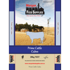 PRIME CATTLE CUBES MORGAN FEED SUPPLIES