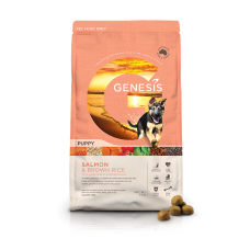 GENESIS SALMON AND BROWN RICE PUPPY FOOD