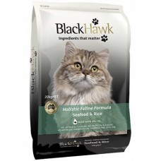 BLACK HAWK SEAFOOD & RICE HOLISTIC ADULT FELINE FOOD