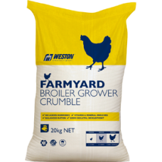 BROILER GROWER CRUMBLE FARMYARD