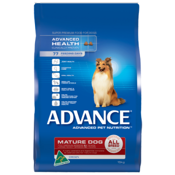 ADVANCE DOG ADULT ALL BREED MATURE CHICKEN