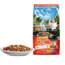 FRISKIES ADULT DRY CAT FOOD MEATY GRILLS